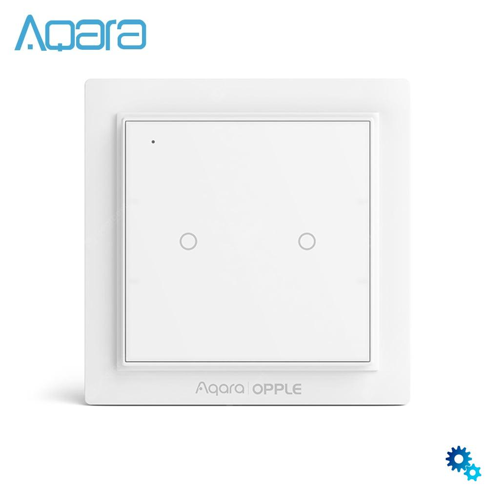 $13.99 Aqara Opple Scene Switch Wireless Two Four Six Buttons Edition – White Two buttons coupon code