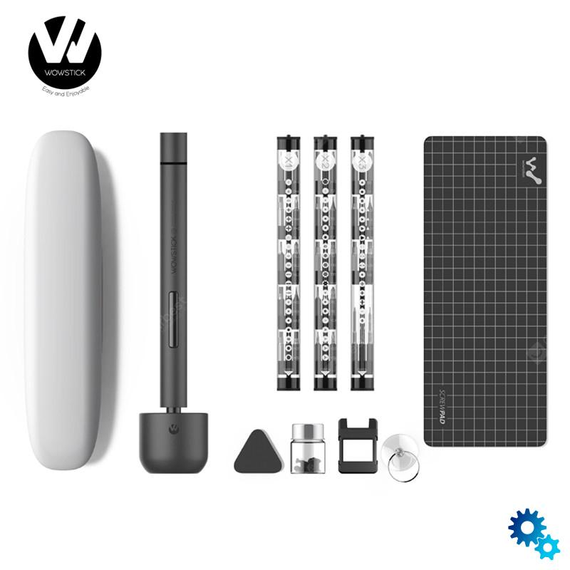 $54.42 Original Youpin Wowstick 1F+ 64 In 1 Electric Screwdriver Cordless Lithium-ion Charge LED Power Screwdriver kit – 1F Russian Federation coupon code