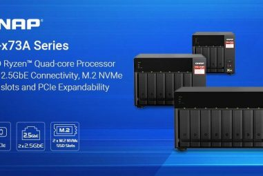QNAP: New NAS with AMD Ryzen processor and 2.5 GbE presented
