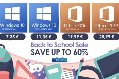 Special events Back to School – Don't miss your chance and get Windows 10 from 7 €